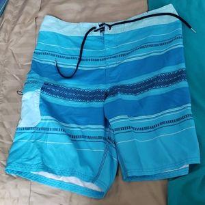 Billabong board shorts.